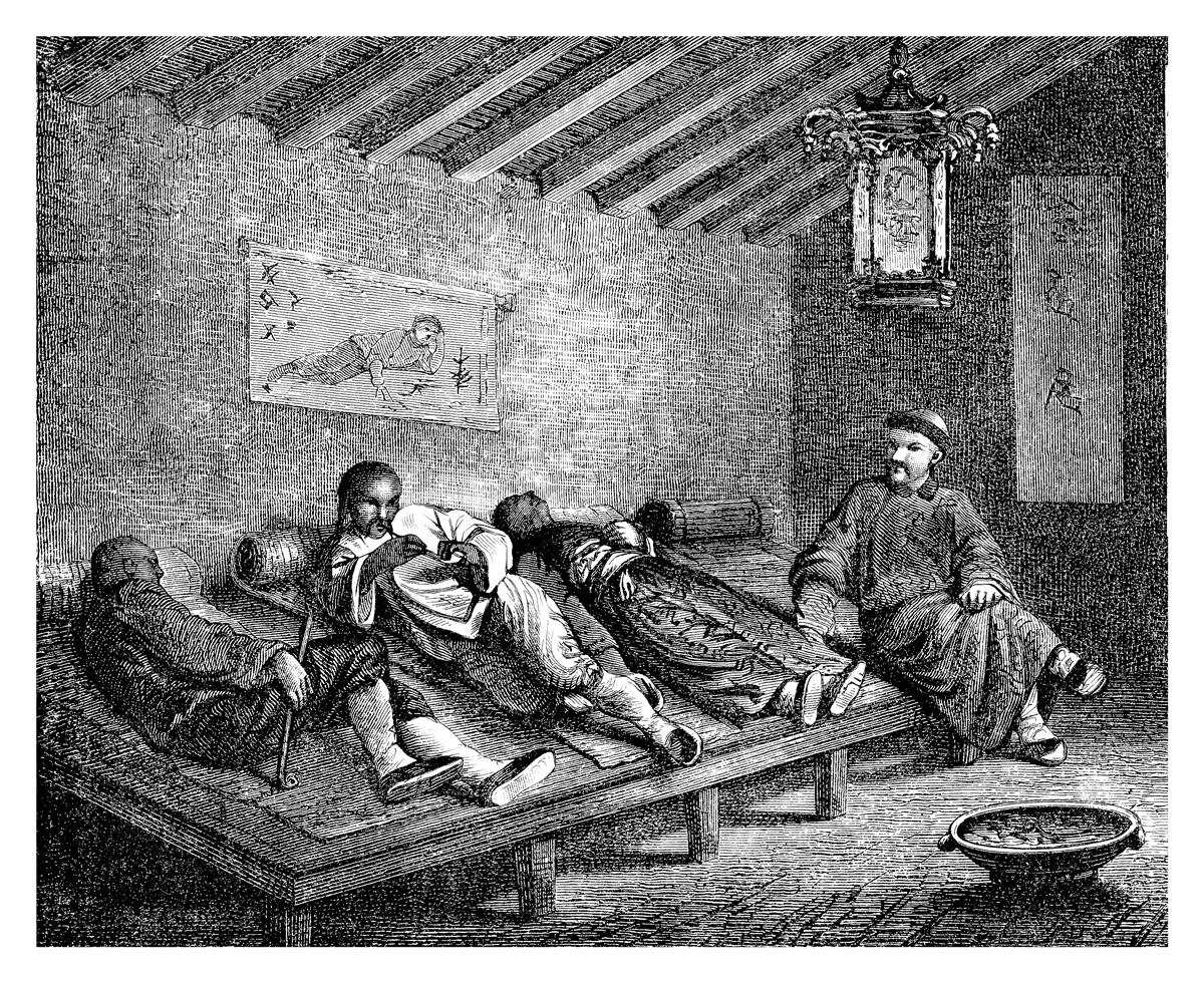 Opium och dess historia har anor långt tillbaka.